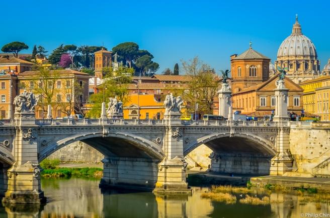 Vittorio Bridge, Rome, Italy