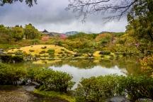 Isuien Garden, Nara, Nara Park, Japan (日本 奈良 奈良公園 依水園)